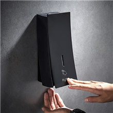 450ml Black Foam Pressing Soap Dispenser Wall Mounted Bathroom Dispenser For Home Hotel