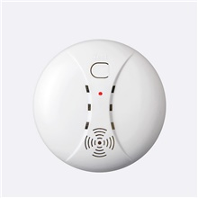 FUERS Smoke Detector Home Security Smart Wireless Independent Smoke Fire Detector ASK Alarm Sensor Low Battery Reminder Protect White