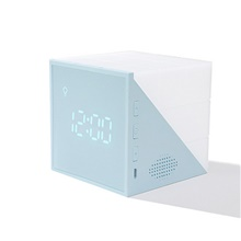 LED Alarm Clock Smart Light Night Light Square Smart Induction / Sound Activated Voice Control LED Lights / Creative USB 1pc Warm White,5V,USB,Blue,1