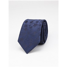 Men's Party / Work / Basic Necktie - Print / Jacquard / Solid Colored Blue,One-Size