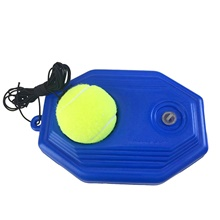Tennis Balls Training Equipment 1 set Rebound Self-study Calories Burned PE For Sports Outdoor Practice Tennis Leisure Sports Blue