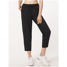 Women's Sweatpants Capri shorts Pants - Solid Colored Outdoor Black Blushing Pink XS / S / M Black,XS