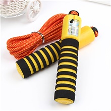 Jump Rope / Skipping Rope Sports PP Exercise & Fitness Portable Durable Muscular Bodyweight Training Weight Loss For Men Women / Kid's Yellow