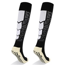 Athletic Sports Socks Running Socks 1 Pair Tube Socks Breathable Sweat-wicking Comfortable Non-slipping Calf Guard Gym Workout Basketball Football / Soccer Running Jogging Sports Color Block Cotton White,One-Size