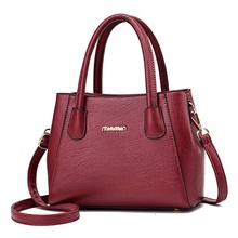 Women's Bags Top Handle Bag Zipper for Daily Wine / Black / Purple Wine