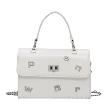 Women's Bags PU Leather Top Handle Bag Glitter for Event / Party / Going out White / Black White
