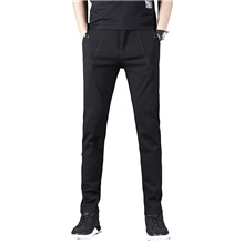 Men's 1 Piece Golf Pants / Trousers Solid Color Fashion Breathable Quick Dry Soft Summer Athleisure Outdoor / Cotton / Elastane / Stretchy Black,XXS