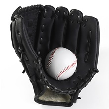 Gloves Gloves All Wearproof / Comfortable / Durable Baseball PU(Polyurethane) Black,9.5inch