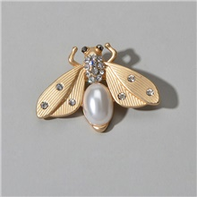 Women's Brooches Classic Sweet Brooch Jewelry Gold For Birthday Gift Gold,1 pc