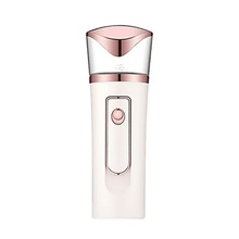 Portable Nano Face Steamer Rechargeable Mist Sprayer Moisturizing Device White