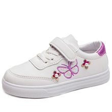 Girls' Sneakers Comfort PU Little Kids(4-7ys) / Big Kids(7years +) Walking Shoes Purple / Pink Fall / Winter Purple,US9.5 / EU26 / UK8.5 Toddle