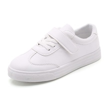 Boys' / Girls' Sneakers Comfort PU Big Kids(7years +) Walking Shoes White Fall White,US13.5 / EU31 / UK12.5 Little Kids