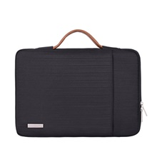 10 Inch Laptop / 11.6 Inch Laptop / 12 Inch Laptop Sleeve / Shoulder Messenger Bag / Briefcase Handbags Polyester Simple / Solid Colored Unisex Waterpoof Shock Proof Black,13.3 inch