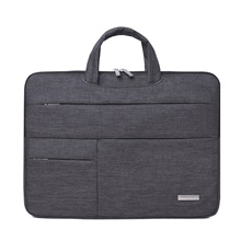 11.6 Inch Laptop / 12 Inch Laptop / 13.3 Inch Laptop Sleeve / Briefcase Handbags Polyester Plain / Fashion Unisex Waterpoof Shock Proof Dark Gray,13.3 inch
