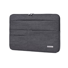 11.6 Inch Laptop / 12 Inch Laptop / 13.3 Inch Laptop Sleeve Polyester Plain / Fashion Unisex Waterpoof Shock Proof Dark Gray,13.3 inch