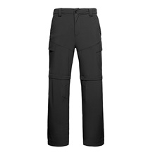 Men's Hiking Pants Outdoor Standard Fit Windproof Breathable Quick Dry Soft Pants / Trousers Black Grey Green Fishing Climbing Camping / Hiking / Caving S M L XL XXL Black,S