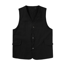 Men's Vest Daily Going out Basic Street chic Regular Solid Colored Black / Khaki / Green US32 / UK32 / EU40 / US34 / UK34 / EU42 / US36 / UK36 / EU44 Black,US32 / UK32 / EU40