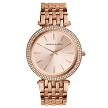 Women's Quartz Watches Quartz Stylish Fashion Casual Watch Stainless Steel Silver Analog - Rose Gold Blushing Pink Gold One Year Battery Life Rose Gold
