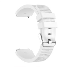 Watch Band for Gear S3 Classic Samsung Sport Band Silicone Wrist Strap 22mm,White