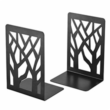 book ends, bookends, book ends for shelves, bookends for shelves, bookend, book ends for heavy books, book shelf holder home decorative, metal bookends black 1 pair, bookend supports, book stoppers B006,17.5*12*9cm