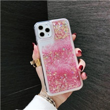 Case For Apple iPhone 11 / iPhone 11 Pro / iPhone 11 Pro Max Flowing Liquid Back Cover Glitter Shine TPU iPhone SE (2020),#1