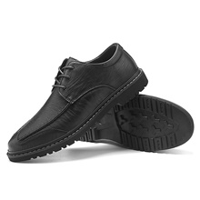 Men's Summer / Fall Business / Vintage / British Office & Career Oxfords Nappa Leather Breathable Wear Proof Black / Brown / Gray Black,US6-6.5 / EU38 / UK5-5.5 / CN38