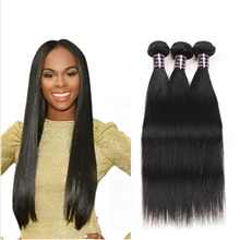 4 Bundles Hair Weaves Brazilian Hair Straight Human Hair Extensions Human Hair Hair Weft with Closure 8-28 inch Natural Women Natural Youth Free Part,4 Pieces,Natural Black #1B,Straight,8 8 8 & 8