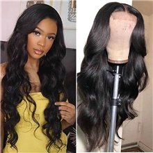Remy Human Hair Lace Front Wig Free Part style Brazilian Hair Body Wave Natural Wig 150% Density Women Fashion For Black Women Women's Long Medium Length Human Hair Lace Wig Lace Front,Natural Color,150%,10 inch,Light Brown Lace,Average